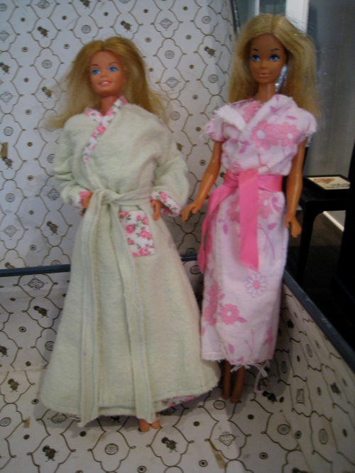 In the 70s, no self-respecting girl would be without her matching nightie and housecoat!