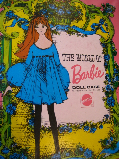 My Barbie case -- one of two, actually.