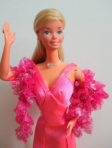 Superstar Barbie came out in 1976. I still remember getting mine.
